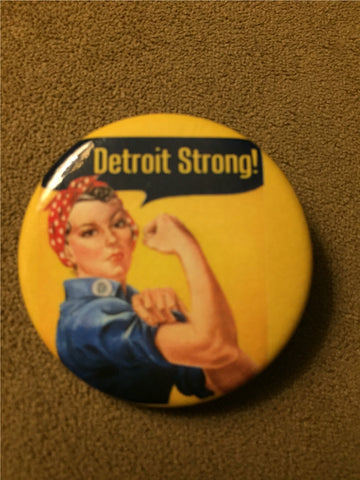 "Rosie the Riveter 1.5"" pinback button"