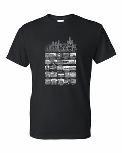 DETROIT'S FAMOUS ROCK BARS T-SHIRT - double-sided