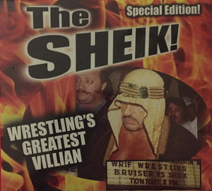 The Sheik Special Edition Wrestling's Greatest Villian DVD 2020