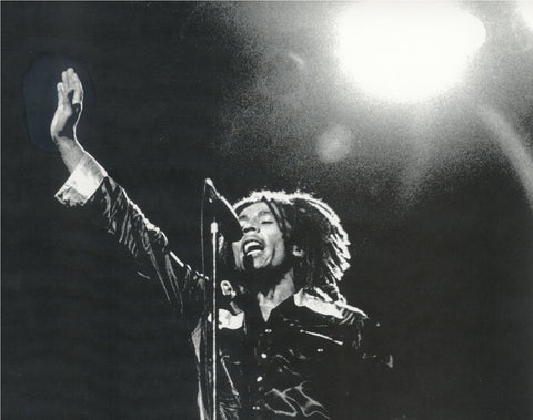 Bob Marley - Leni Sinclair Photo