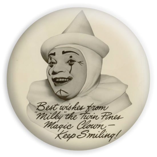twin pines Milky The Clown Sticker