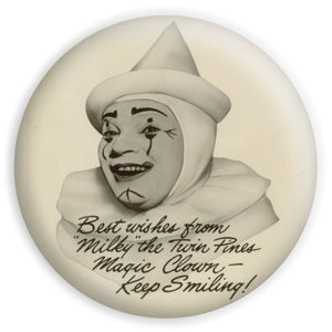 Milky The Clown Twin Pines Sticker
