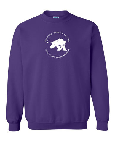 white panther party sweatshirt