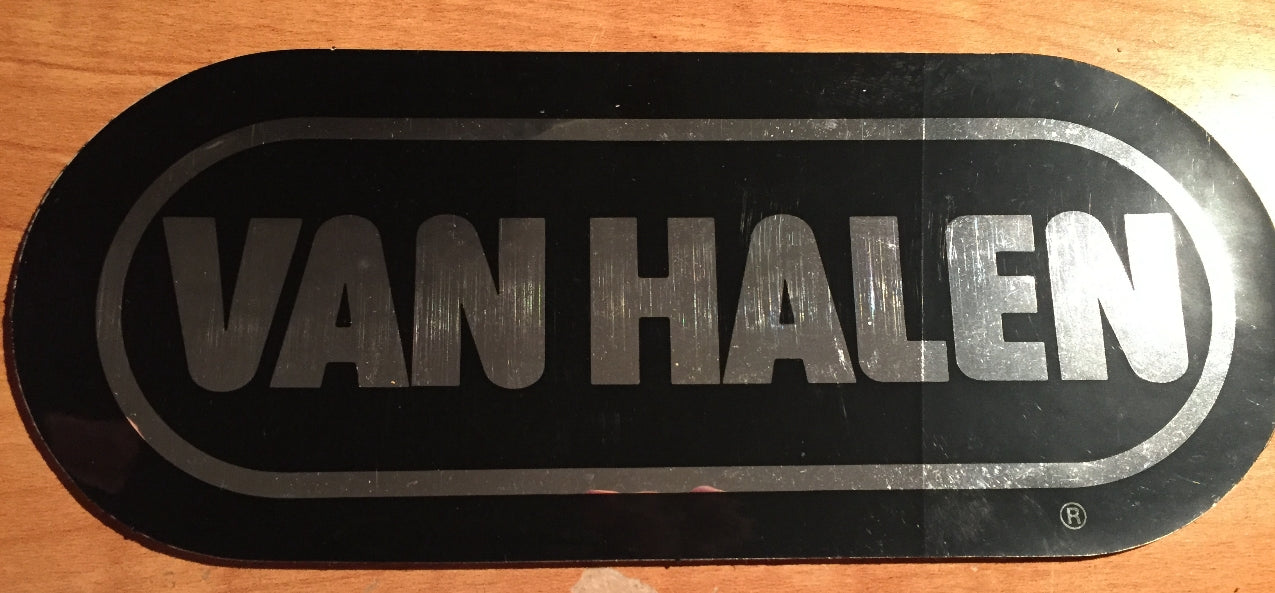 van halen original bumper sticker