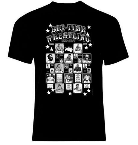 Big Time Wrestling T-Shirt | Detroit Cobo Arena