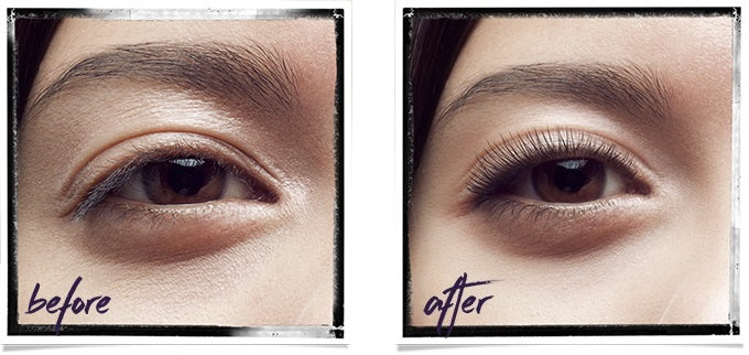LVL Lash Lift Before and After