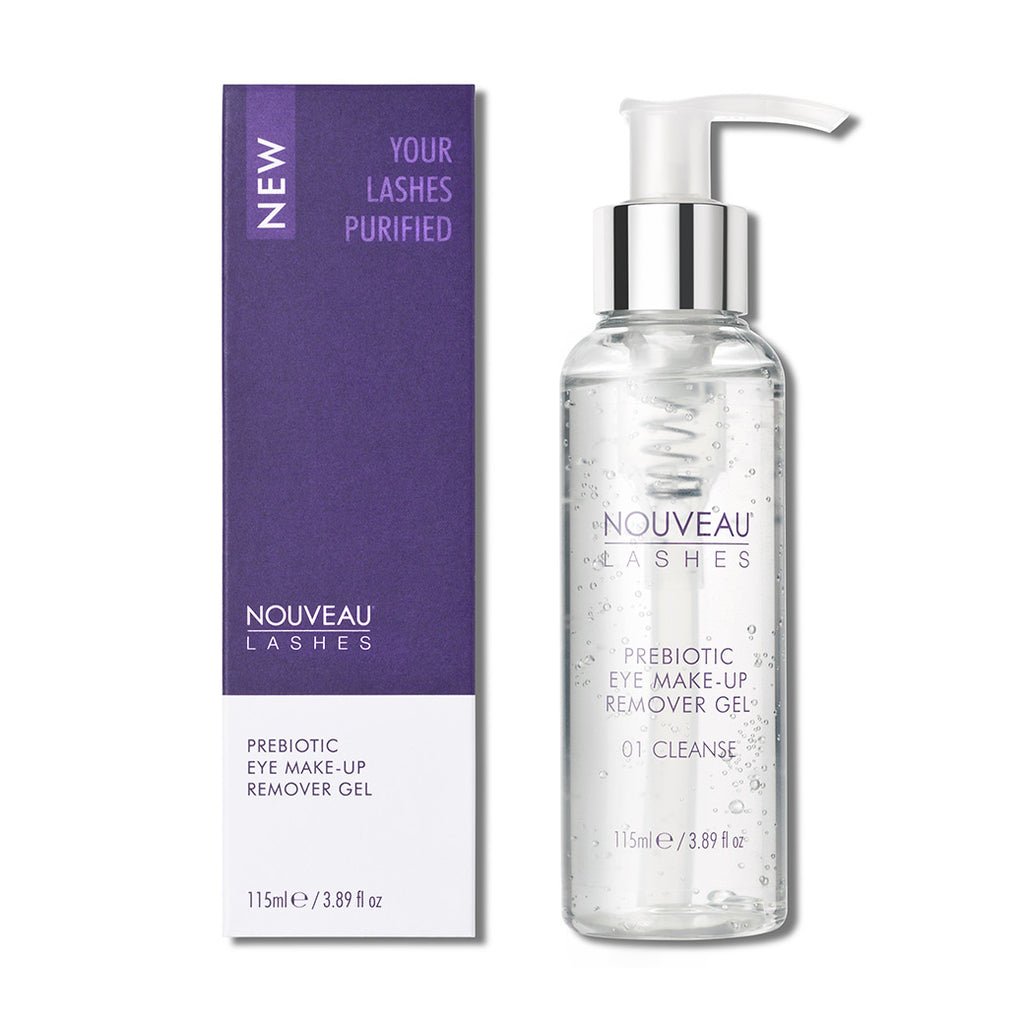 Nouveau Lashes Prebiotic Eye Makeup Remover Gel