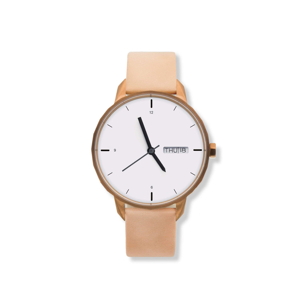 42mm Copper Watch Nude Strap