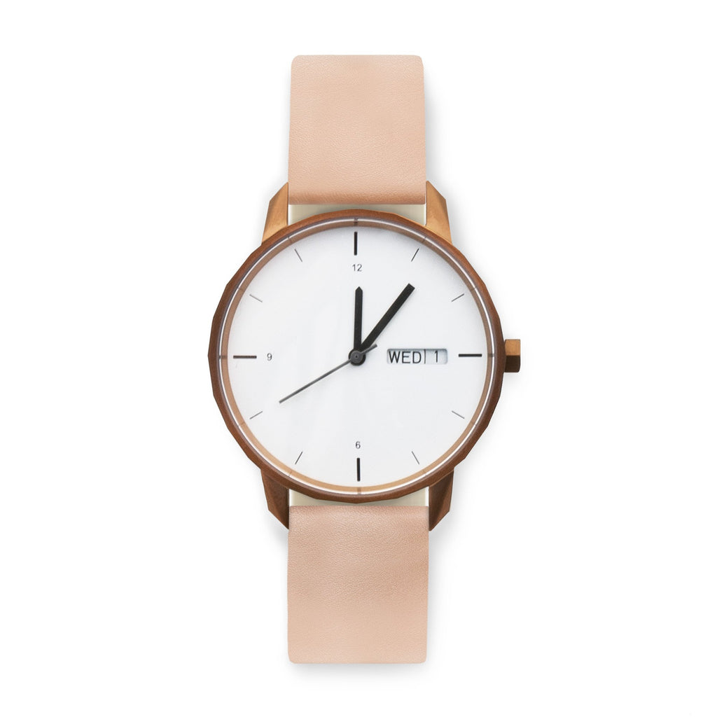 38mm Copper Watch Nude Strap