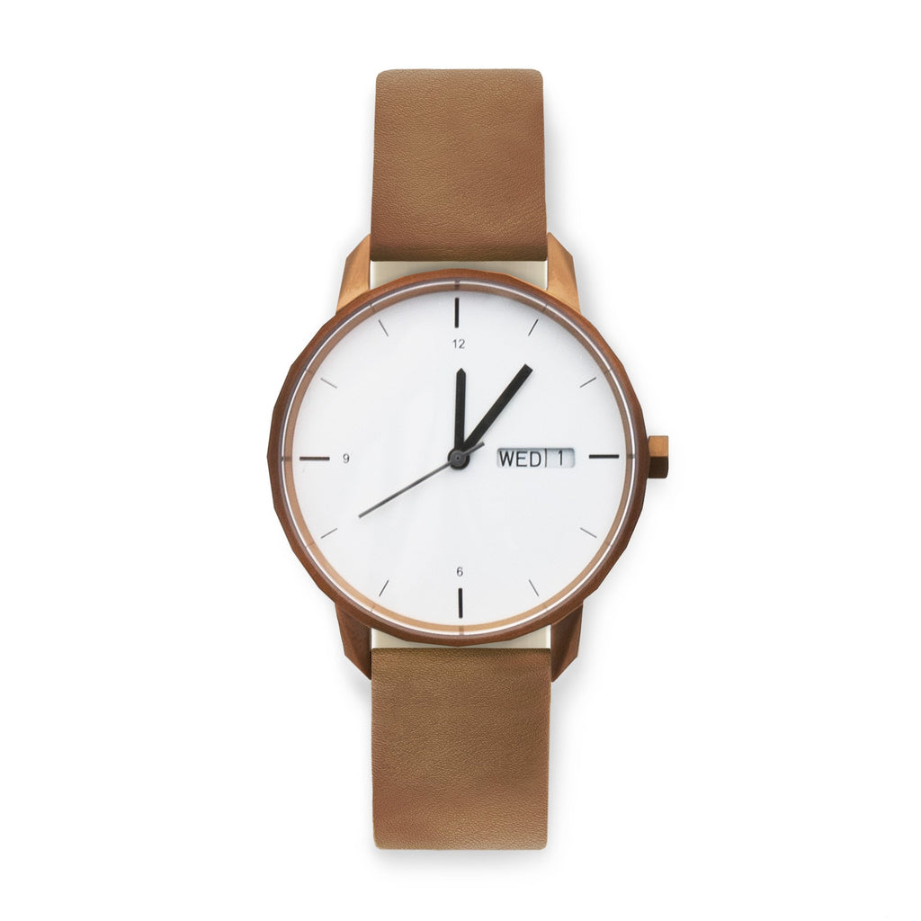 38mm Copper Watch Camel Strap