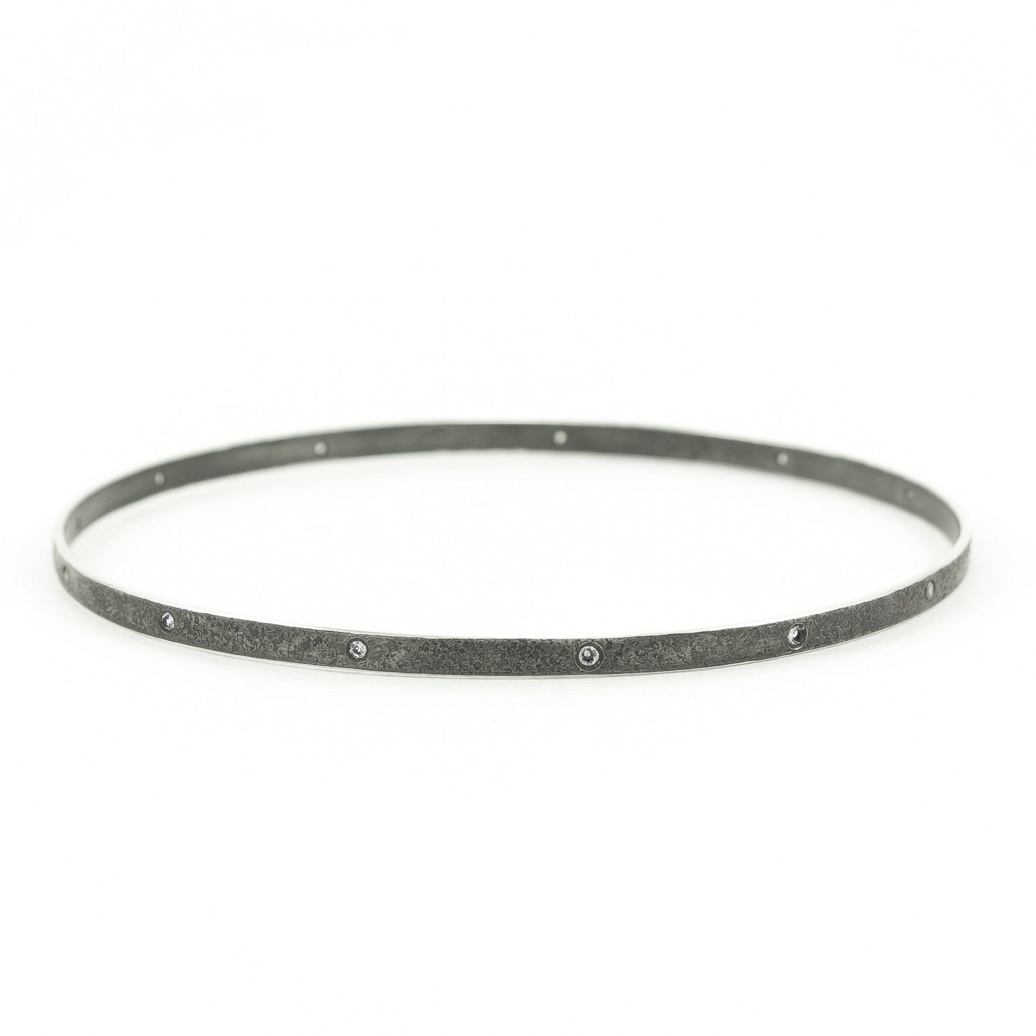 thin bracelet white diamond websitesize verifine bangle bangles size skinny in product black line gold