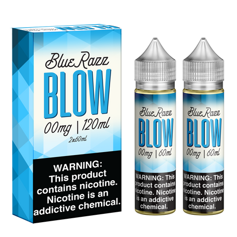 120ML | BlueRazz by Blow Vape Juice