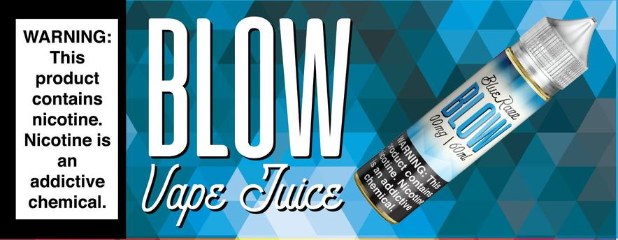 Blue Razz by Blow Vape Juice