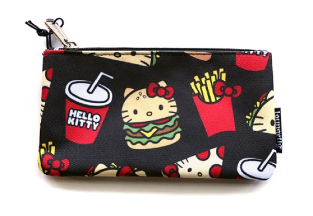 Hello Kitty Snacks Nylon Pouch x Loungefly