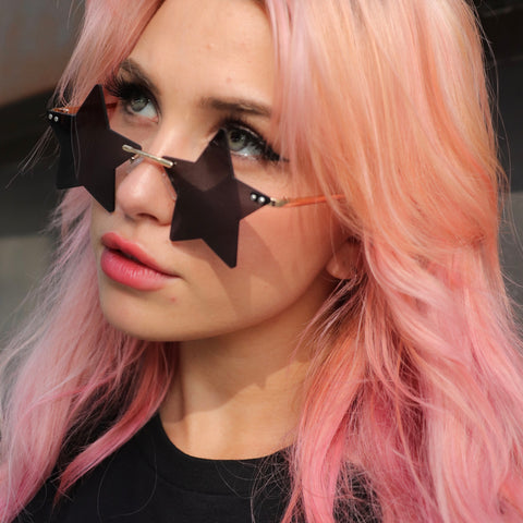 Seeing Stars Sunglasses Black