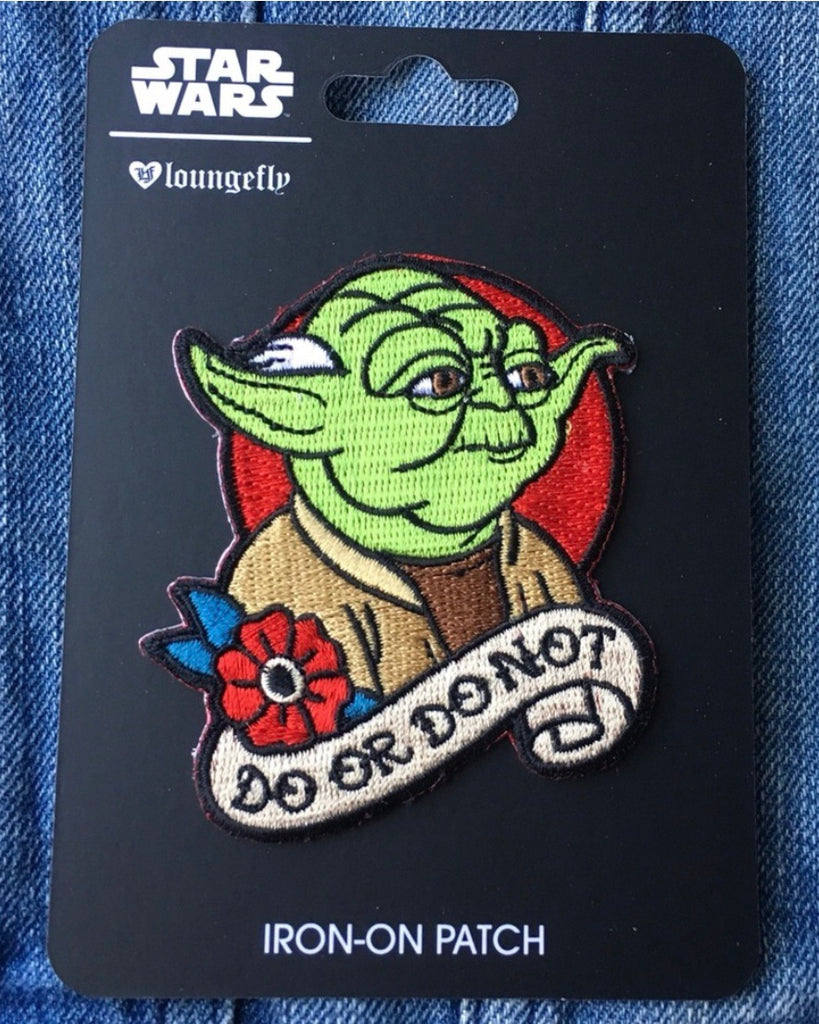 Yoda Do or Do not Iron-on Patch x Star Wars Loungefly - Lulabites