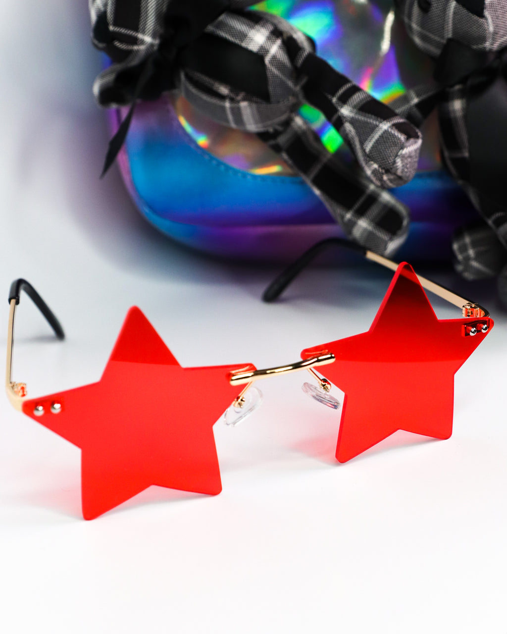Seeing Stars Sunglasses Red