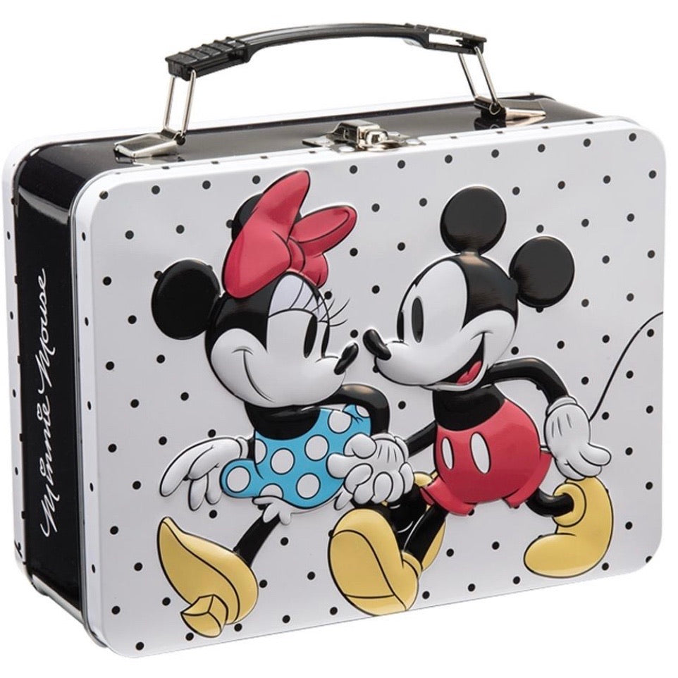 Mickey & Minnie Large Tin Tote by Disney x Bioworld - Lulabites