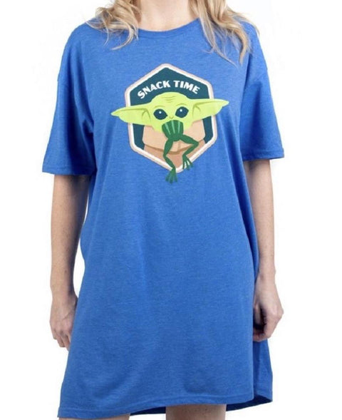 Star Wars Mandalorian The Child Snack Time Lounge Shirt