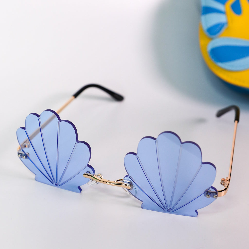 See Shell Sunglasses Blue