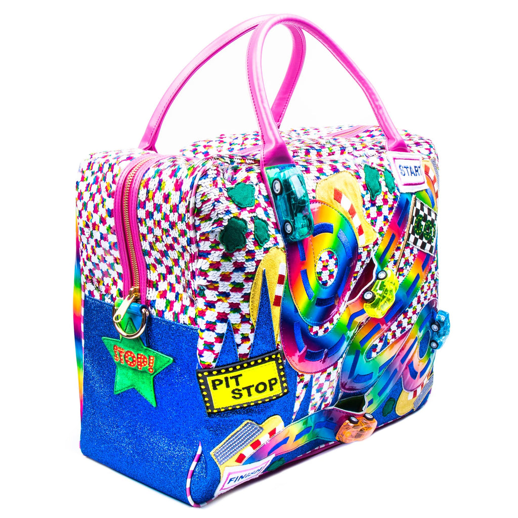 Rainbow Highway Travel Bag x Irregular Choice