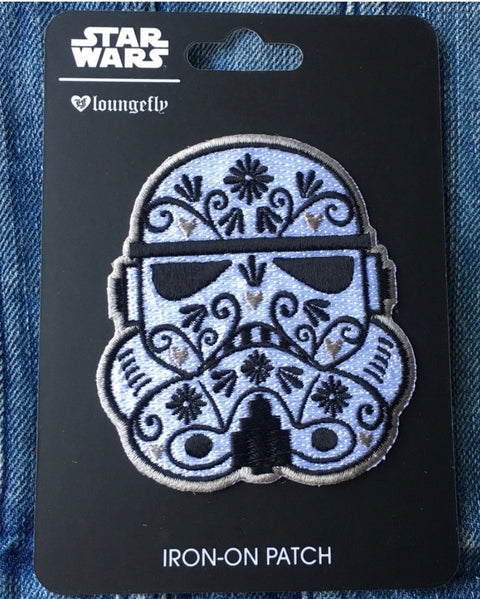 Stormtrooper Iron-on Patch x Star Wars Loungefly - Lulabites