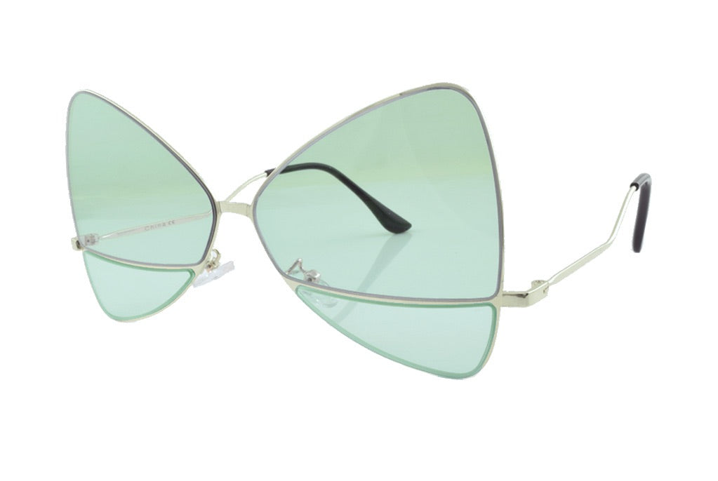 Bow Sunglasses Green - Lulabites