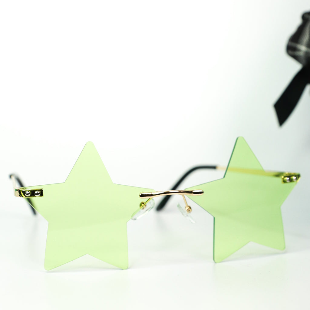 Seeing Stars Sunglasses Green