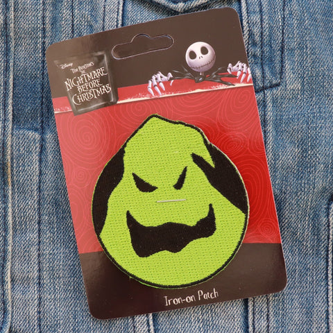 Blacklight Oogie Boogie Iron-on Patch - Lulabites