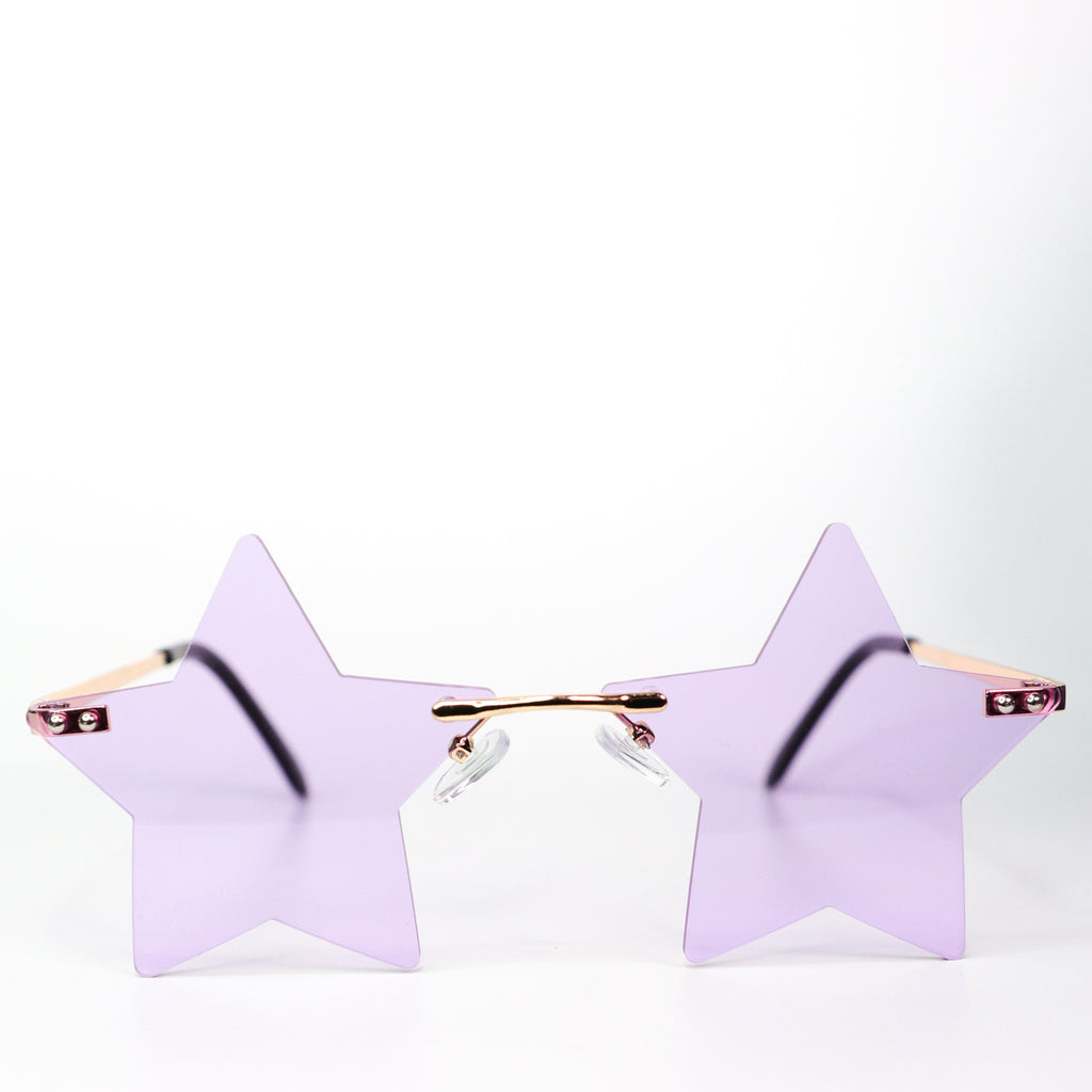 Seeing Stars Sunglasses Purple