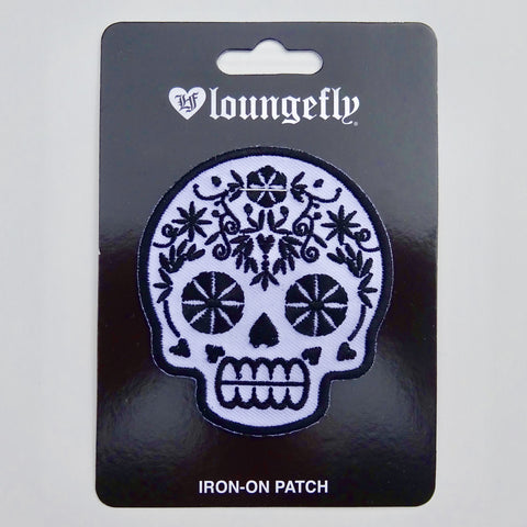 Iron-on Patch Sugar Skull - Lulabites