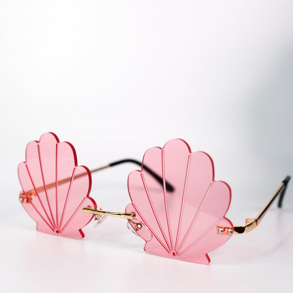 See Shell Sunglasses Pink