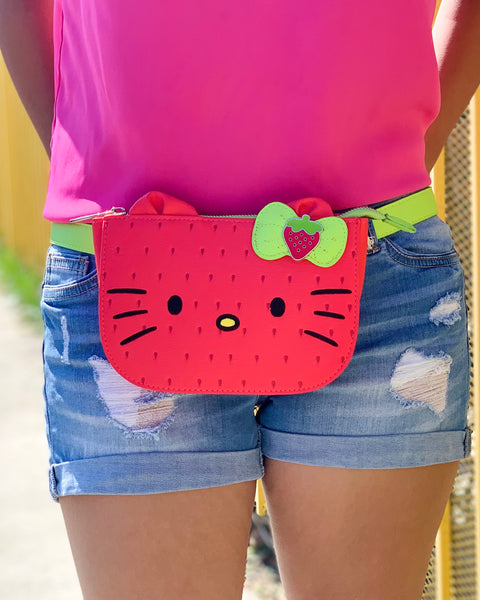 Hello Kitty Strawberry Belt Bag x Loungefly - Lulabites
