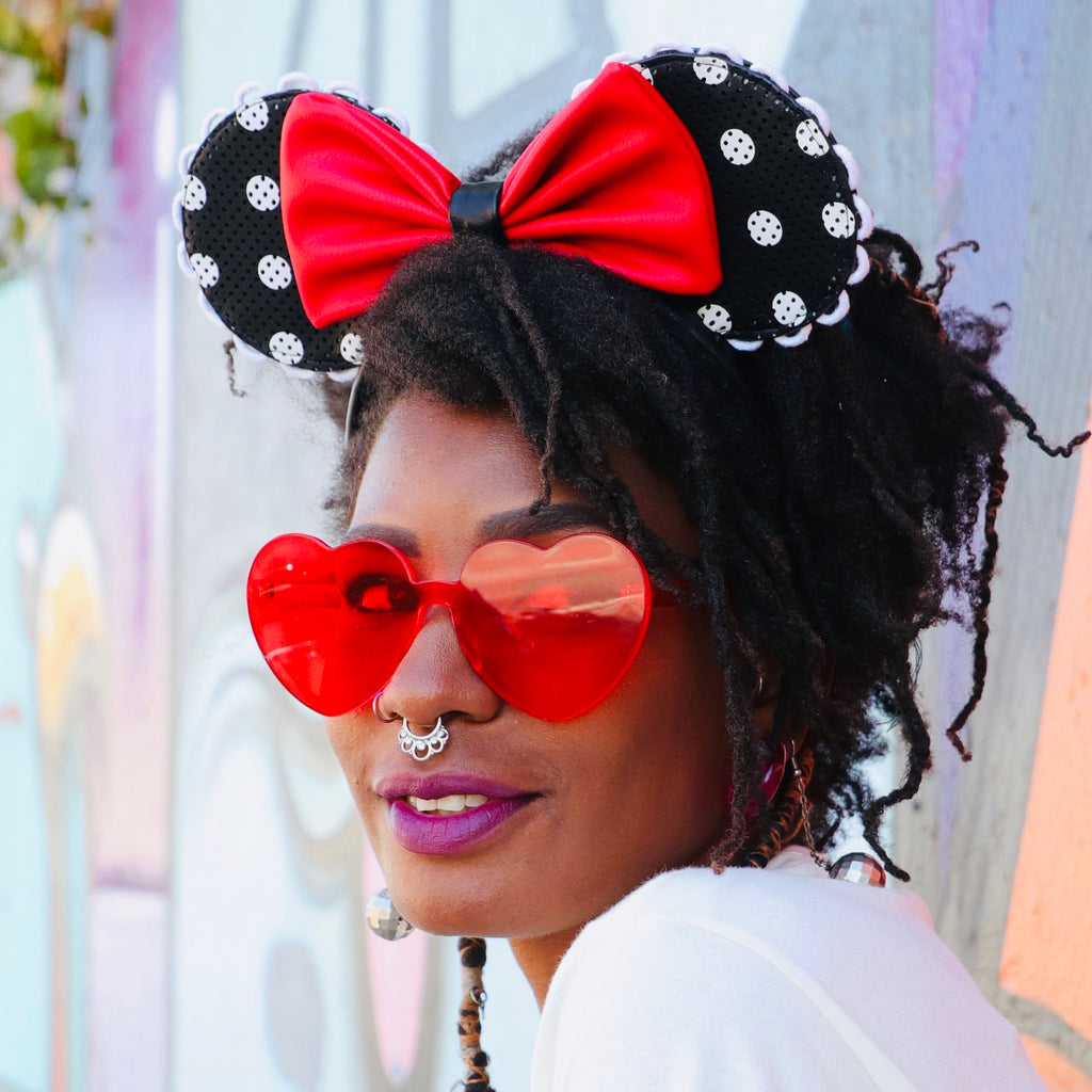 Minnie Mouse Pin Trading Ears x Loungefly