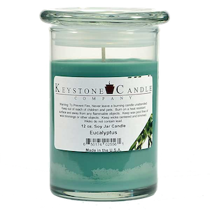 Eucalyptus Premium Madison Soy Jar Candle
