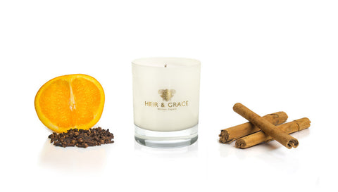 Mulled Oranges Handcrafted Luxury Home Candle