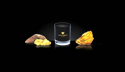 Oudh - Black & Gold Handcrafted Luxury Home Candle
