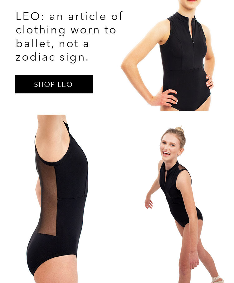 Cove Mesh Back Leotards