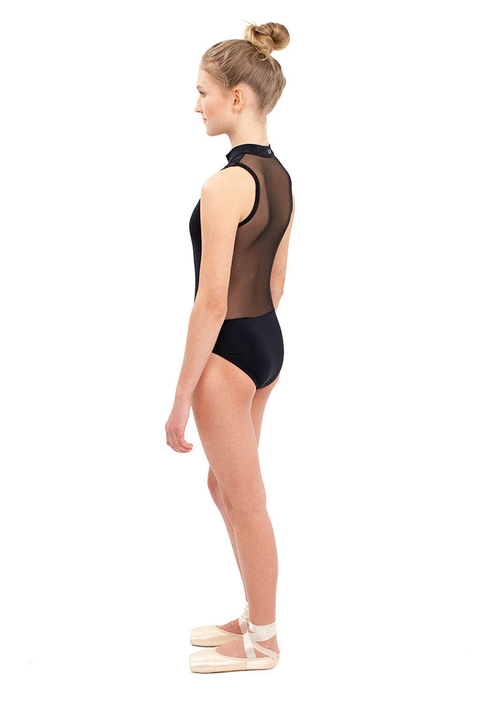Mesh Leotard -  - Cove - 4