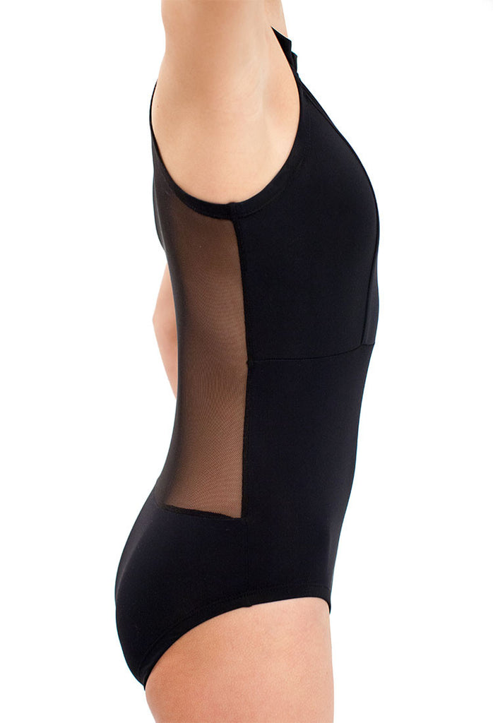 Mesh Leotard - Kids XS / Black - Cove - 1