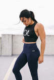 Navy High Waisted Leggings
