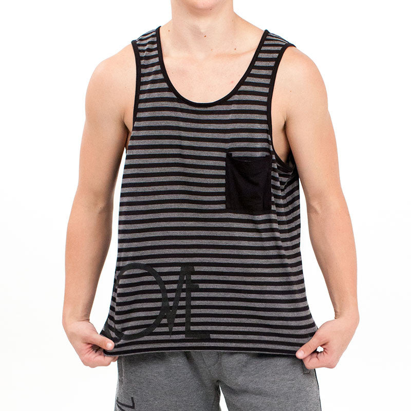 Stripe Tank -  - Cove - 1