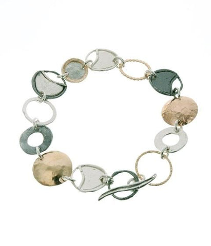 Sterling Silver, Gold Filled Bracelet