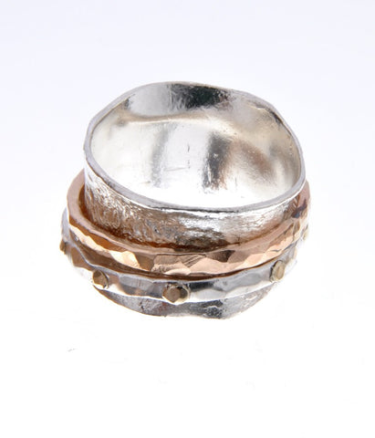 Sterling Silver, 9K Gold, Gold Filled Ring