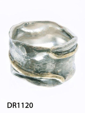 Sterling Silver,Gold 9K Ring