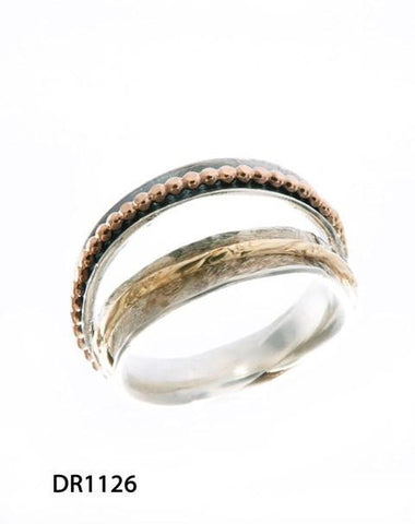 Sterling Silver,Gold Filled Ring