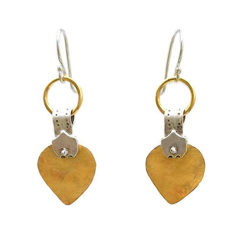 Sterling Silver, Gold Filled Earrings