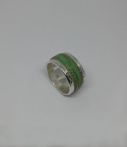 Sterling Silver, Gold Filled, Resin Ring