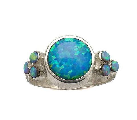 Sterling Silver, Opal Ring
