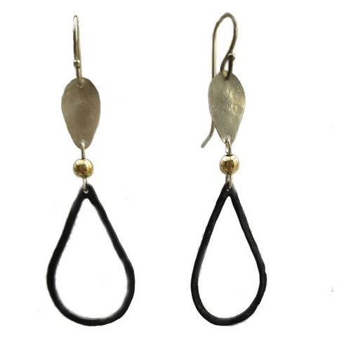 Sterling Silver, Gold Filled, Oxidised Silver Earrings